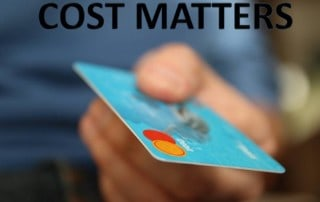Credit Card, Investment Costs Matter