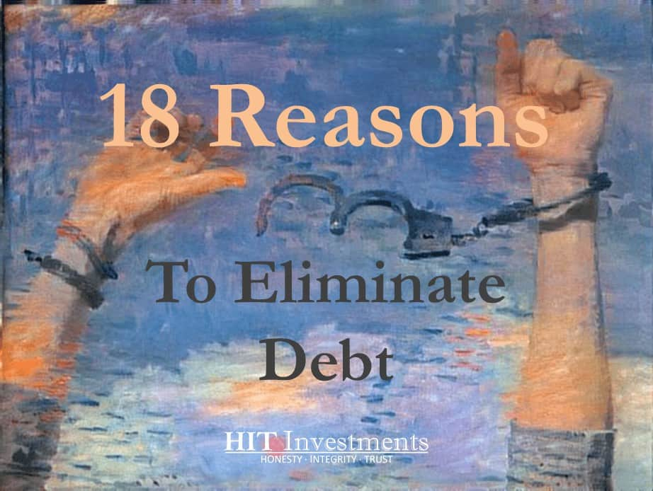 Reasons to become debt free