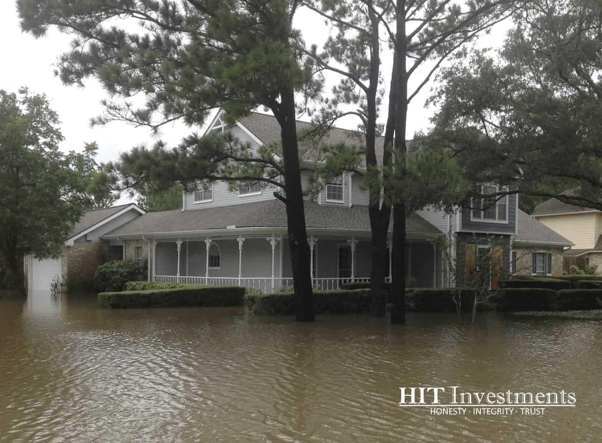Harvey Flood Damage