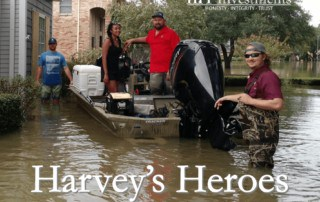 Hurricane Harvey Hero Flood Rescue Crew Volunteer Houston Addicks Barker