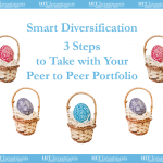 Smart Diversification: 3 Steps to Take With Your Peer to Peer Portfolio